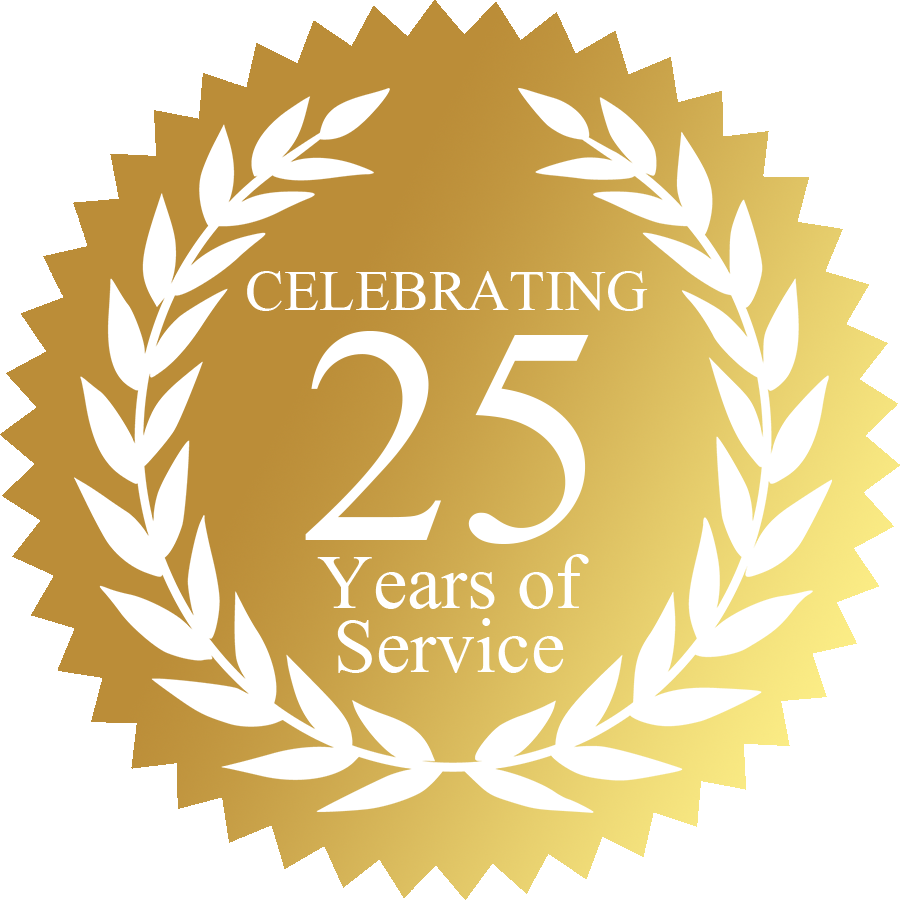 See Who Is Celebrating 25 Years of Service